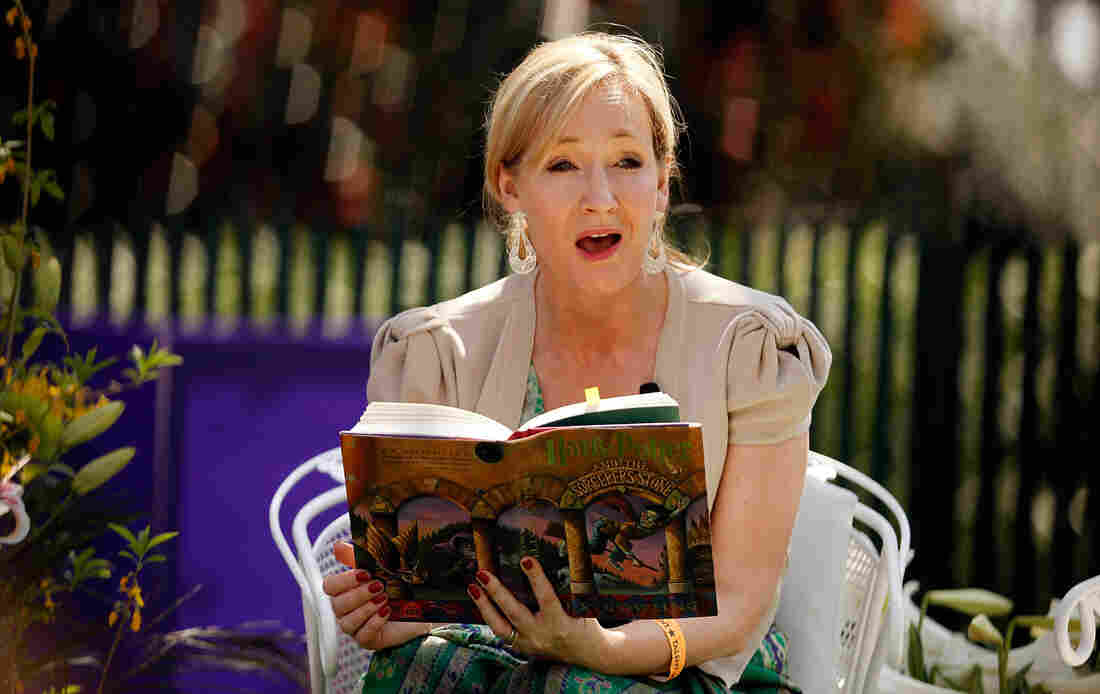 J.K. Rowling reads to children at the 2010 White House Egg Roll. According to a new essay, her own experiences as a young student helped inform the Harry Potter character Dolores Umbridge.