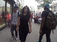 Ten hours of walking in NYC as a woman.