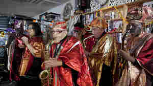 Marshall Allen and the Sun Ra Arkestra perform at the Tiny Desk.