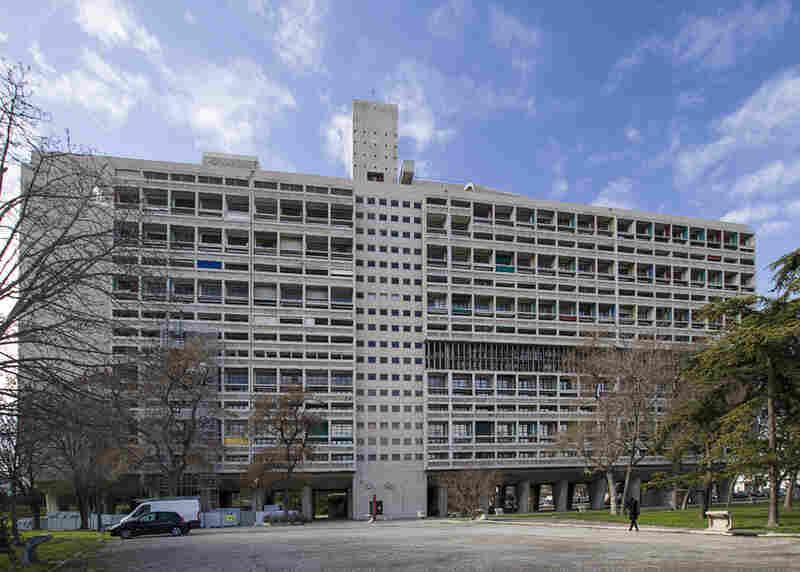 Le Corbusier's Unité d'Habitation apartment building was completed in 1952.
