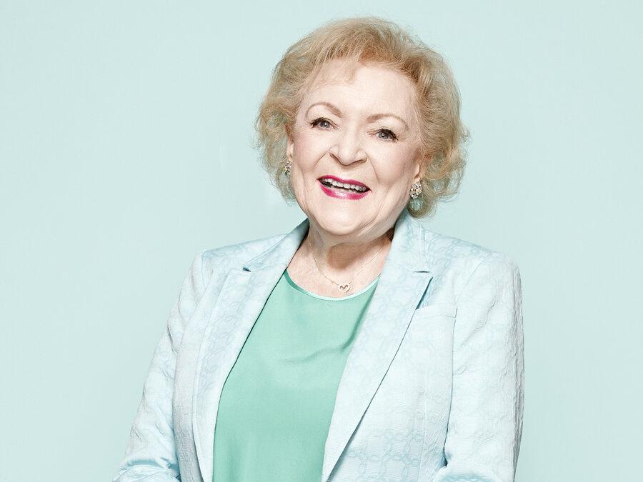 Betty White 2014 At 92 years old  Betty White
