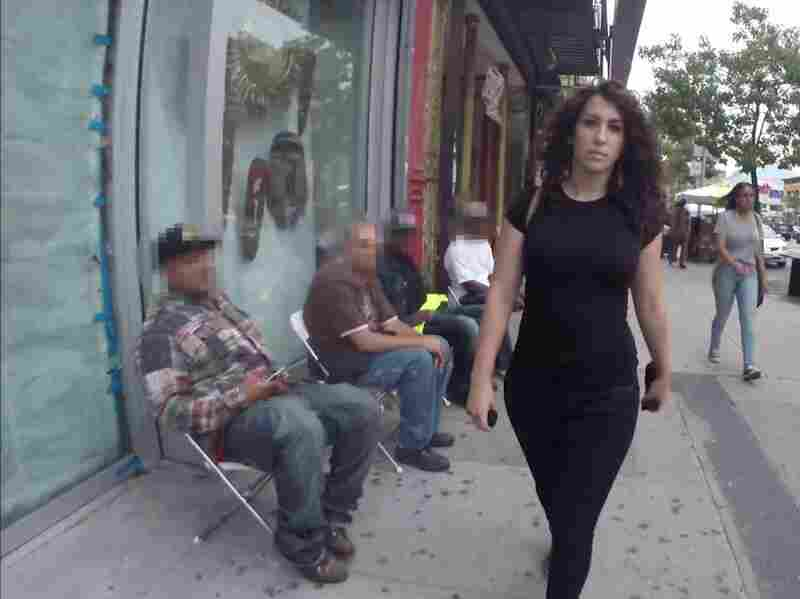 """10 Hours of Walking in NYC as a Woman"" shows the harassment actress Shoshana B. Roberts faces on the streets of New York. After the video went viral, Roberts began to receive violent threats."