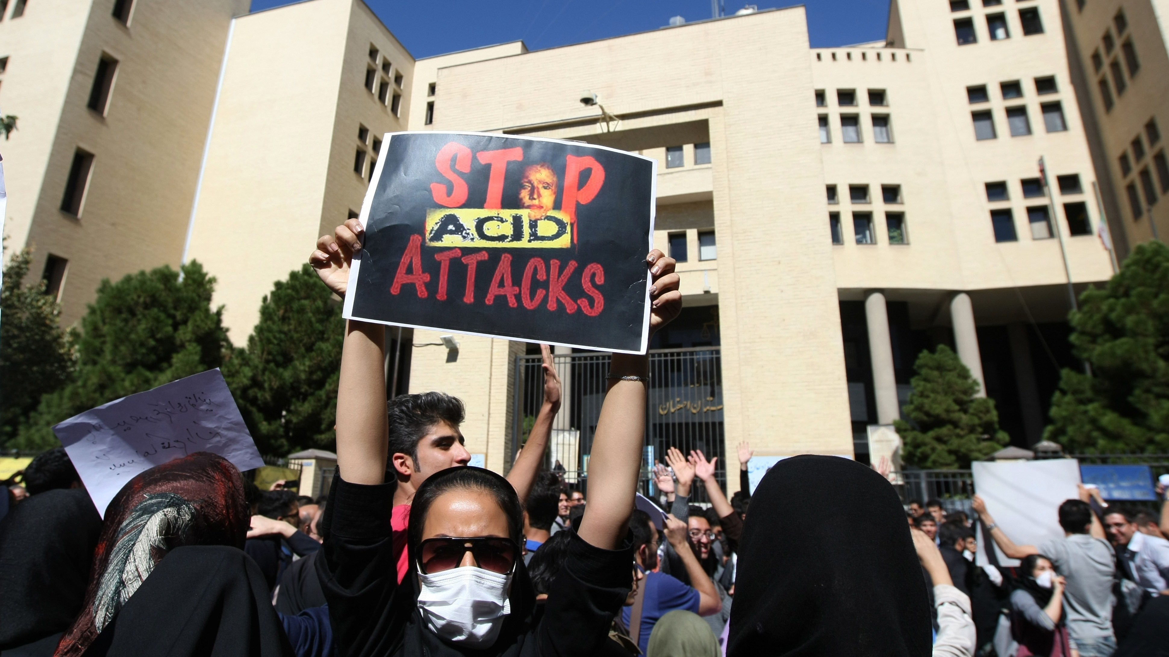 After Acid Attacks And Execution, Iran Defends Human Rights Record