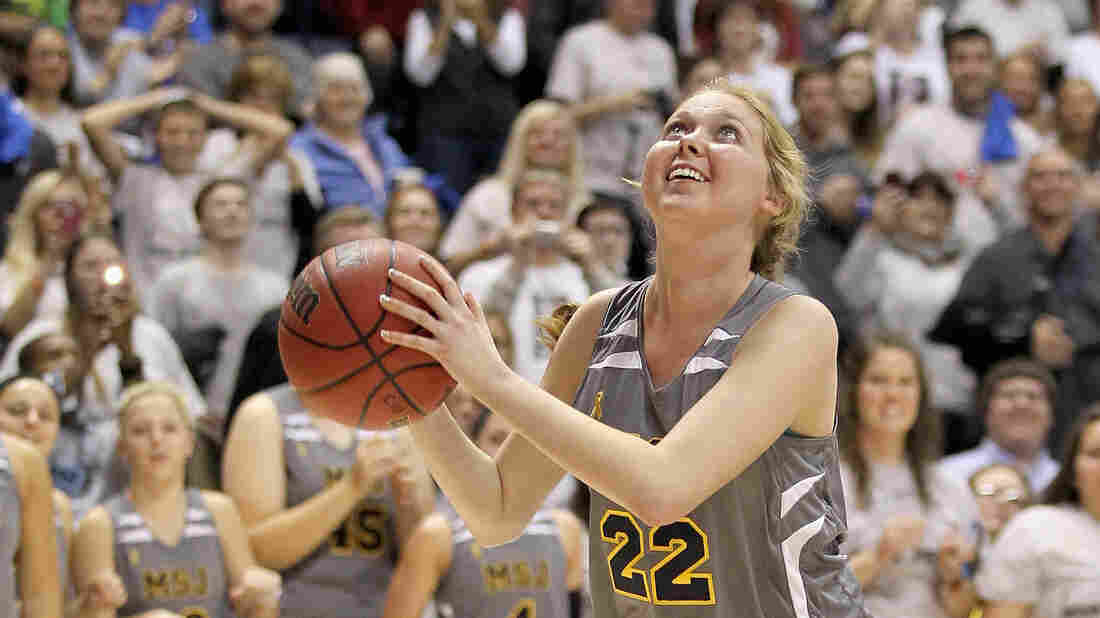 Ten thousand people filled the arena to watch Lauren Hill of Mount Saint Joseph play the first game of her college basketball career. Hill has a rare form of cancer, and doctors say she has a few months to live.