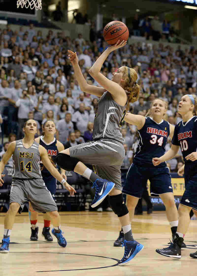 After Hill's first basket, the sold-out crowd at Cintas Center in Cincinnati went wild.