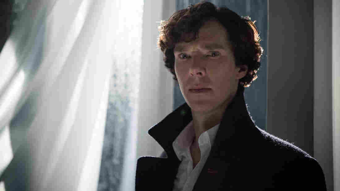 Benedict Cumberbatch stars as Sherlock Holmes on the crime drama Sherlock.