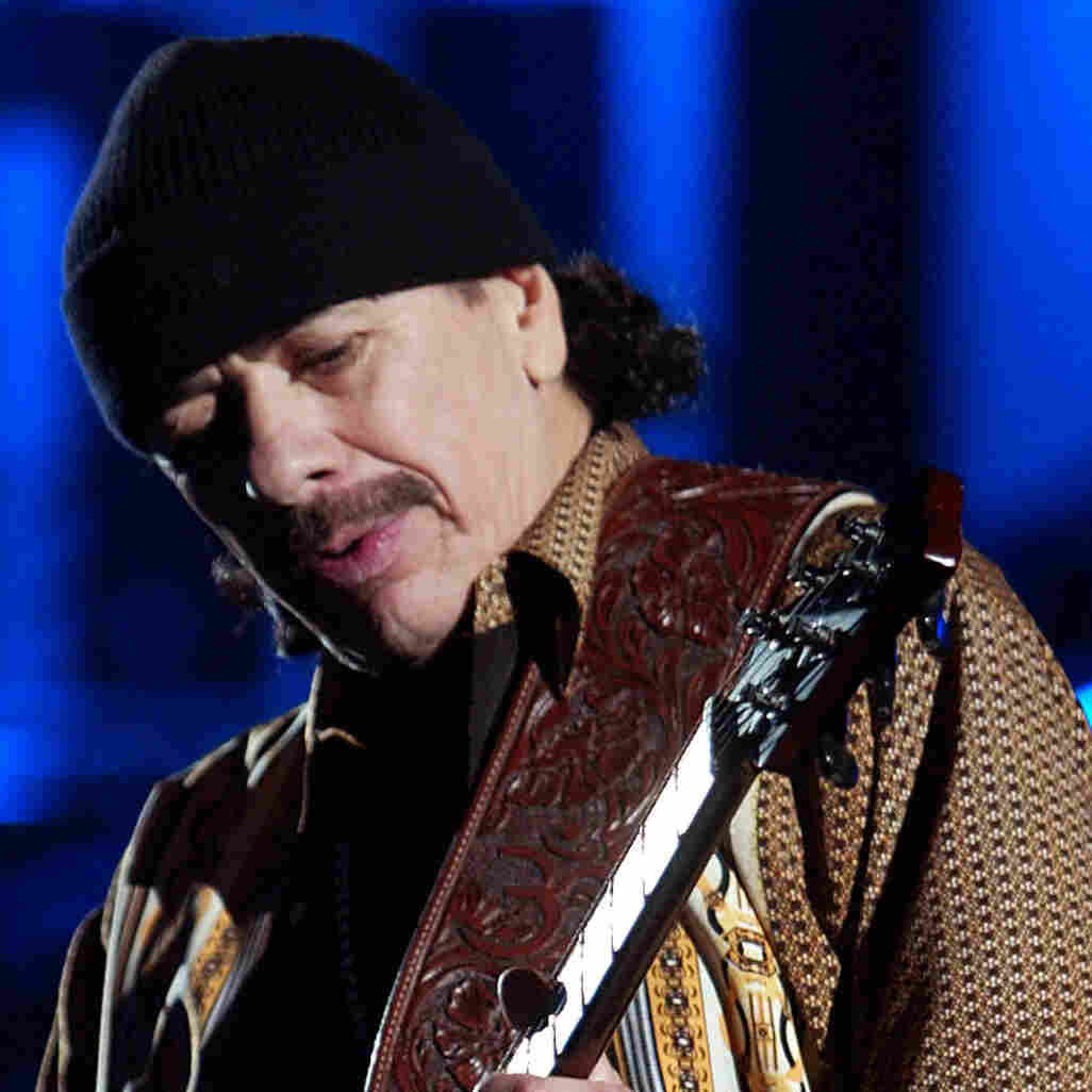 Carlos Santana uses music to reflect on his career in this week's episode of Alt.Latino.
