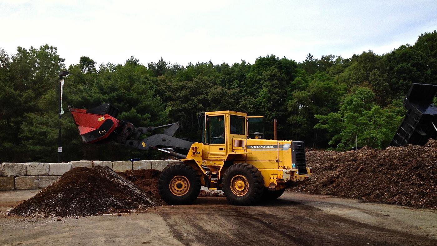 Ton Of Topsoil >> Massachusetts Food Waste Ban Gains Broad Acceptance : The Salt : NPR