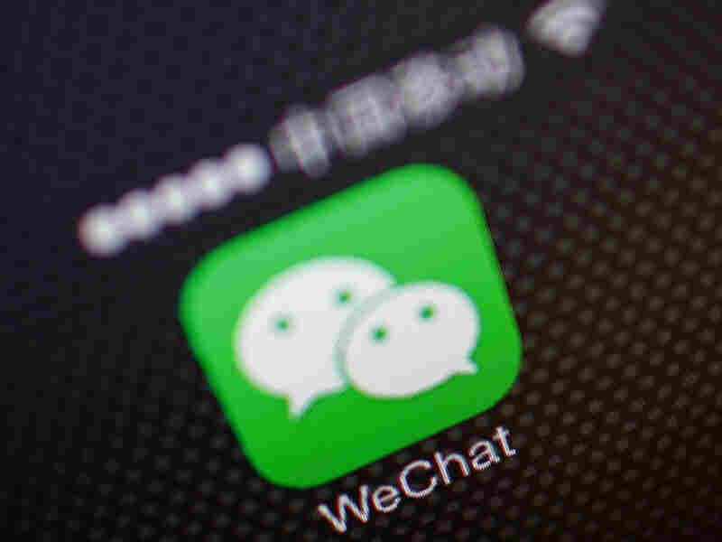 China's WeChat messaging app has a huge audience that allows Chinese to organize online.