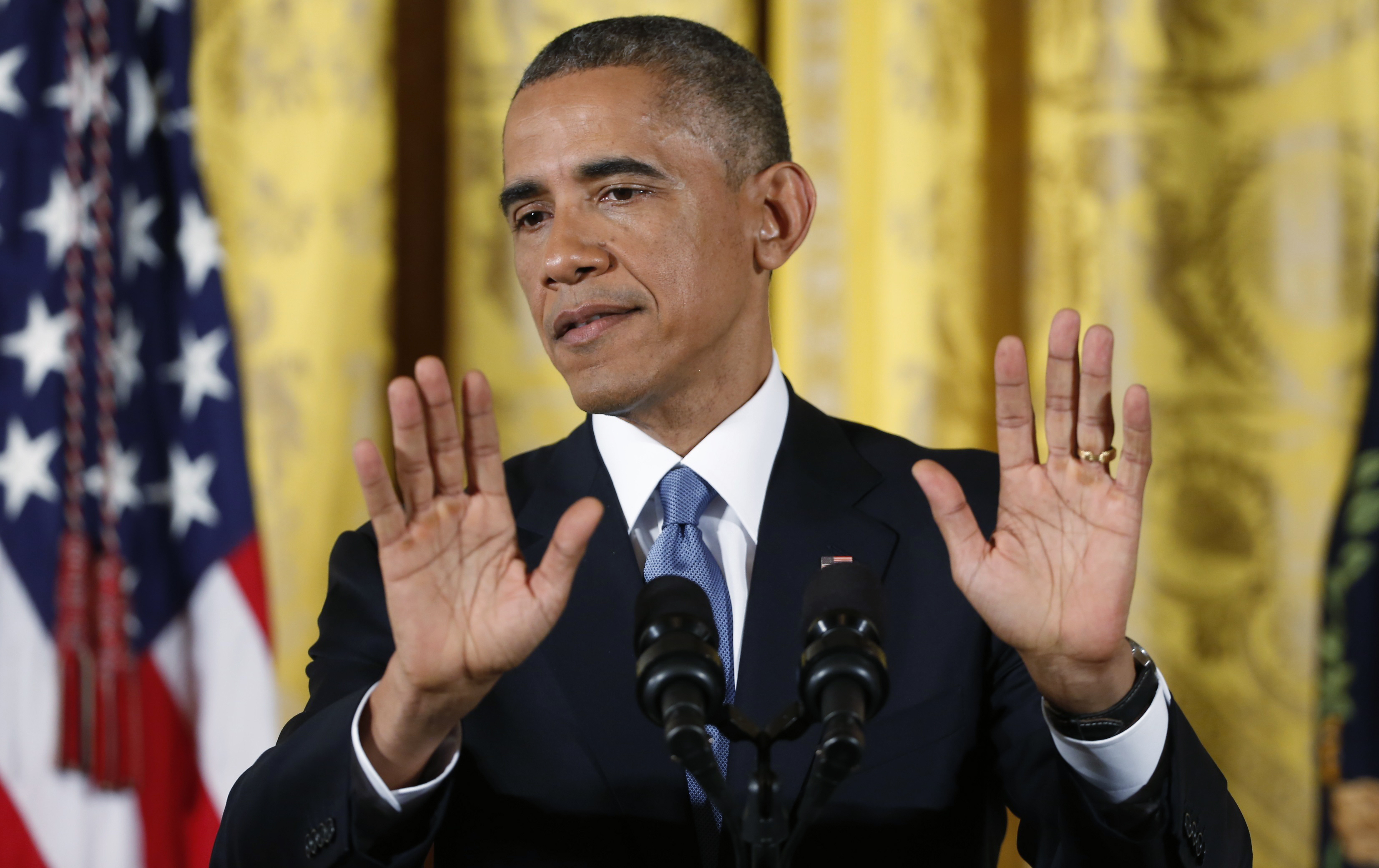 Image result for obama hand in the air