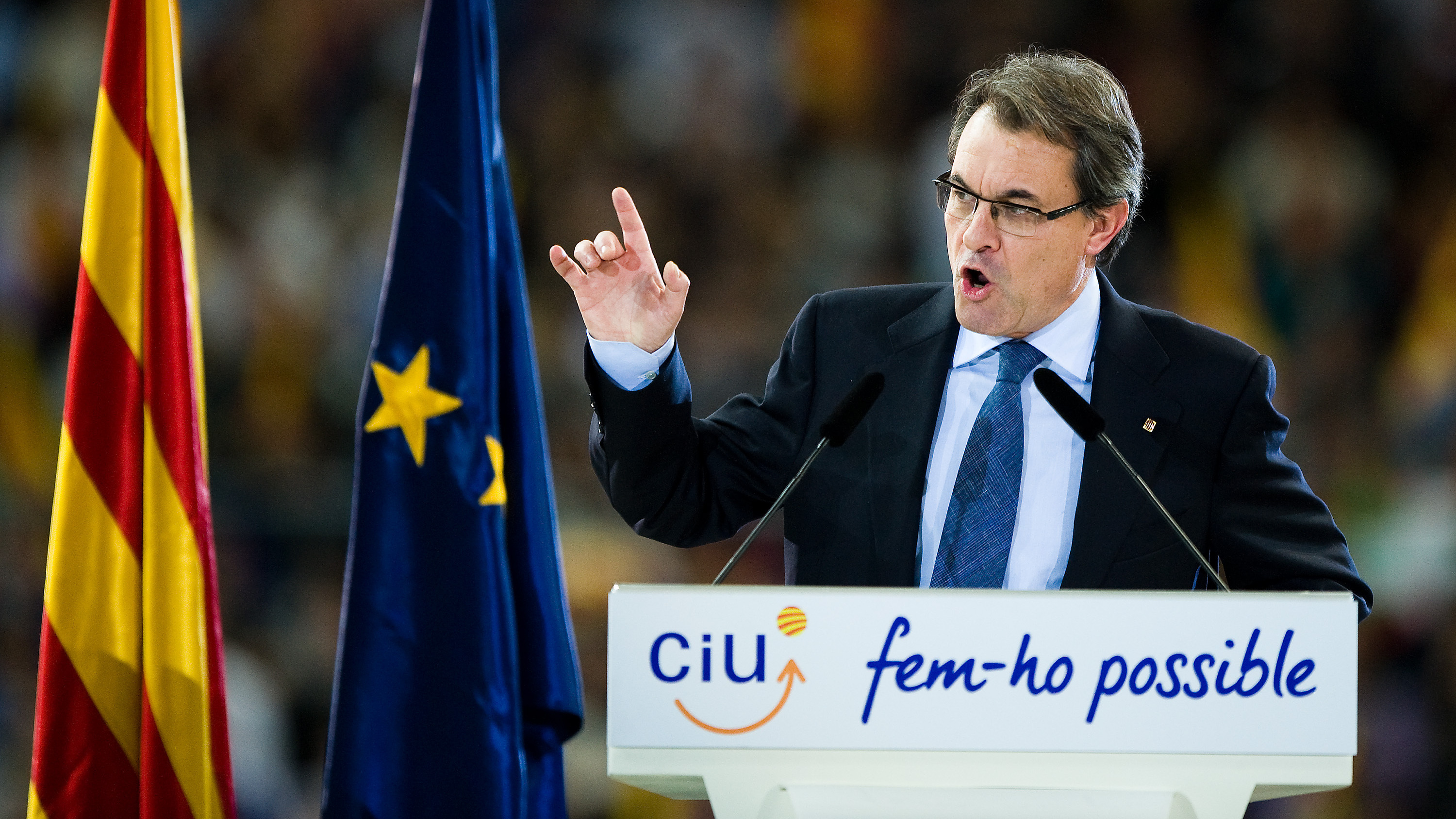 Catalonia's President Makes His Case For Independence From Spain