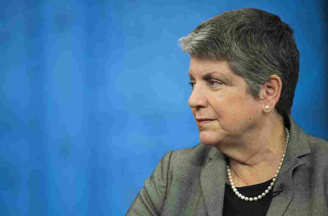 Janet Napolitano in May of 2014.