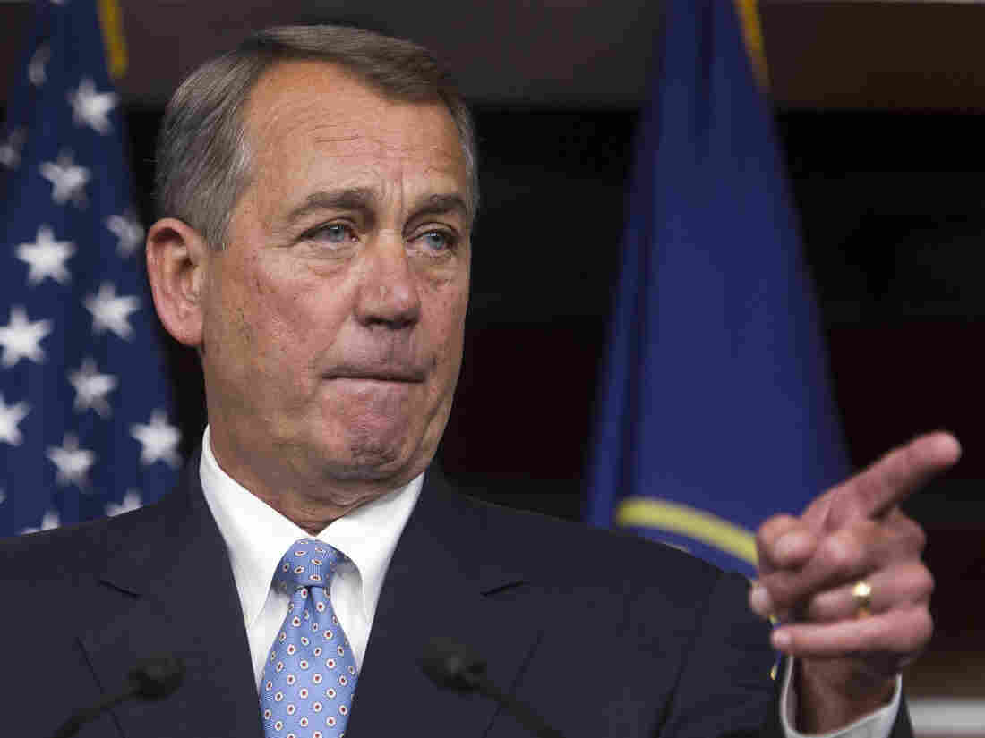 In a news conference Thursday on Capitol Hill, House Speaker John Boehner of Ohio warned President Obama not to go it alone on immigration reform.