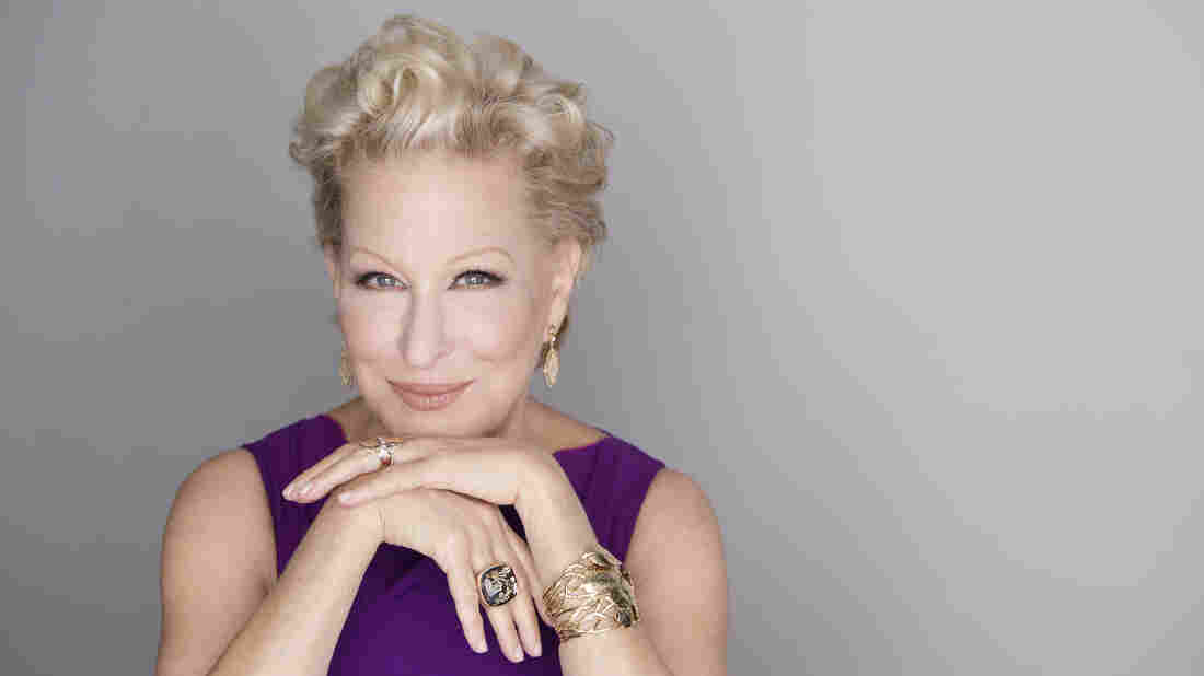 Bette Midler's new album, a tribute to girl groups, is titled It's The Girls.