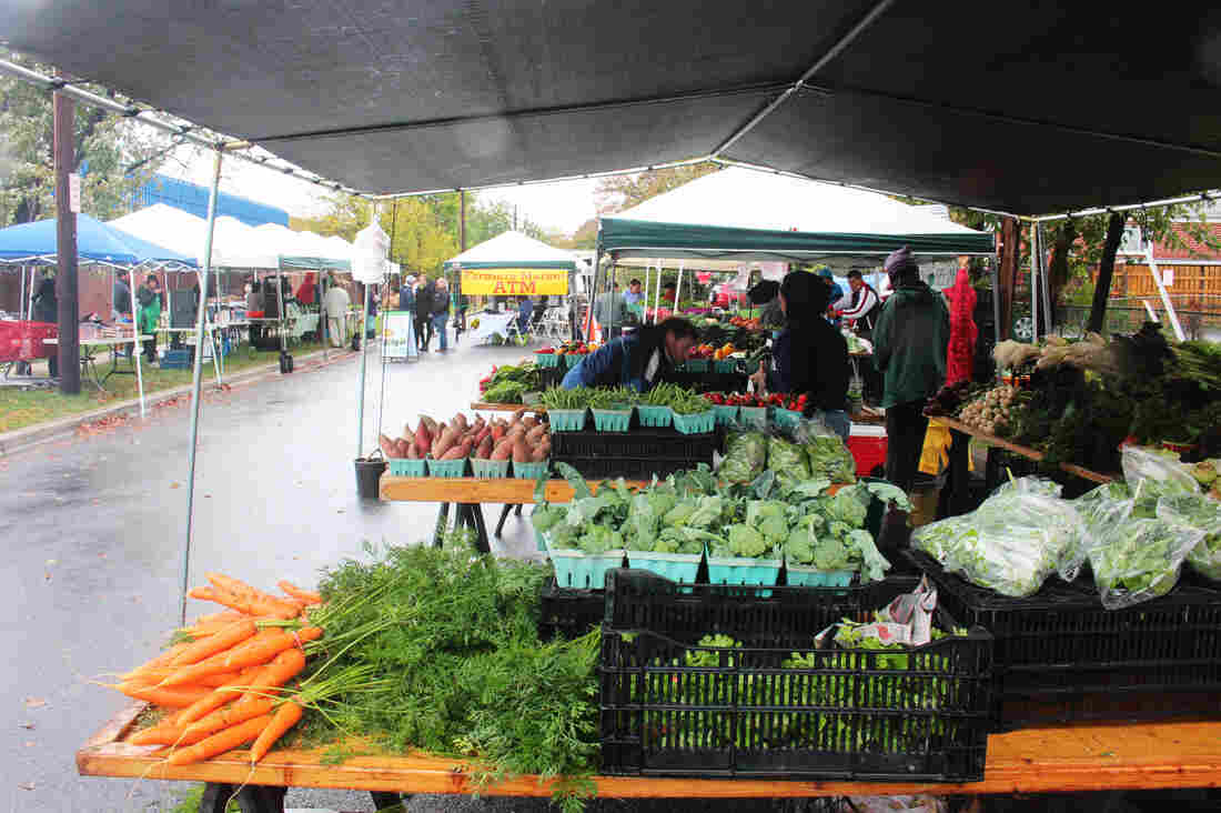 Crossroads Farmers Market is located in a heavily immigrant neighborhood on the boundary between Langley Park and Takoma Park, Md.