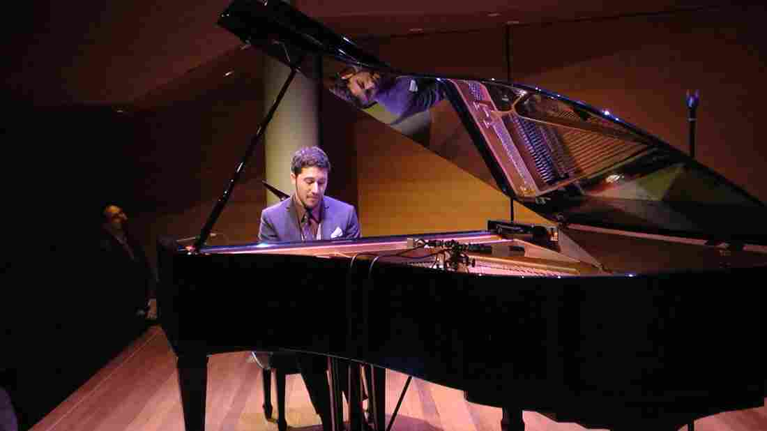 Emmet Cohen performs at the Rubin Museum of Art.
