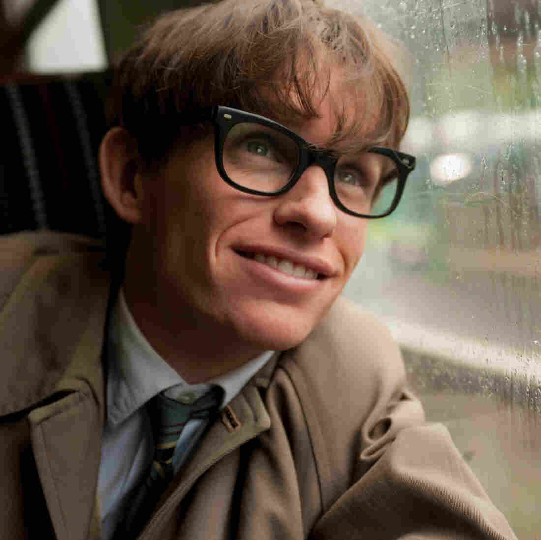 Eddie Redmayne plays Stephen Hawking in director James Marsh's The Theory of Everything.