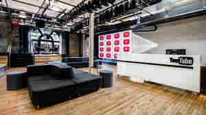 A new Manhattan studio joins YouTube Spaces in London, Tokyo and Los Angeles. Media analysts say YouTube hopes content produced there will ultimately get viewers to stay longer on the site.