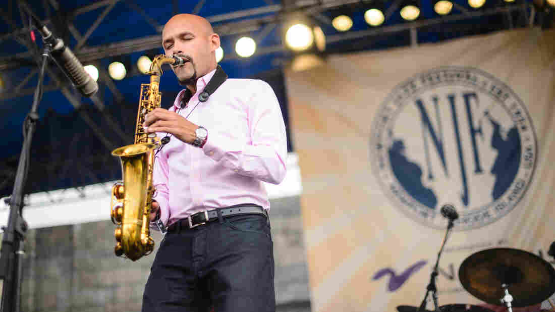 Miguel Zenón performs from Identities Are Changeable at the Newport Jazz Festival.