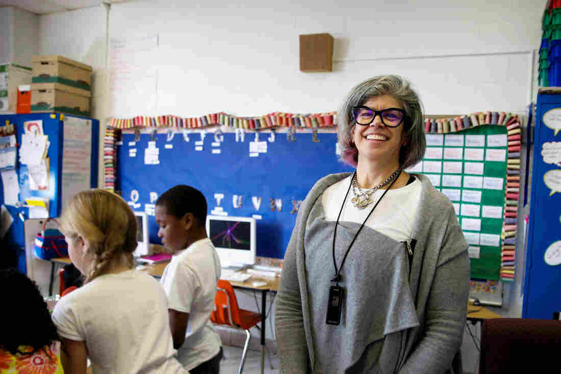 A 17-year veteran of the classroom, Amy Wertheimer teaches fifth grade at Watkins Elementary in Washington, D.C.