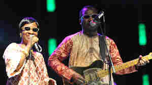 "Mariam and Amadou, both from Mali, add their voices to the song ""Africa Stop Ebola."""