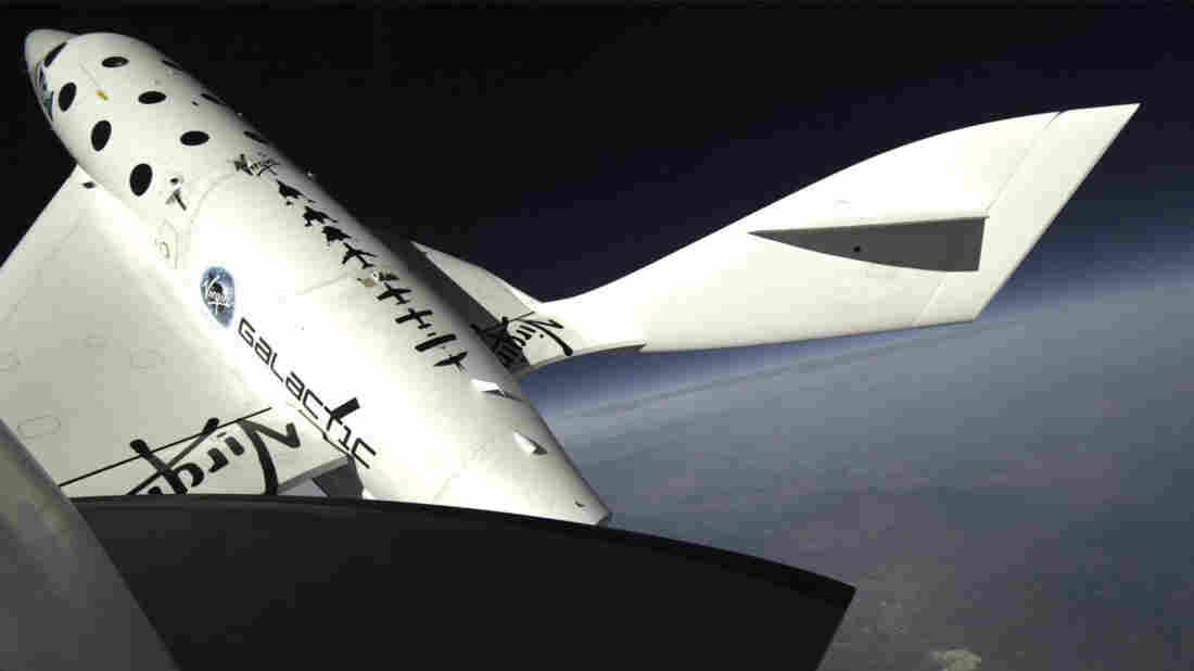 The unique folding tail section of the Virgin Galactic's SpaceShipTwo may have been a factor in the crash.