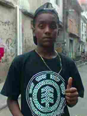 In June this year, Matteos Alves dos Santos (in a photo from his Facebook account) was picked up by police for no reason and murdered.