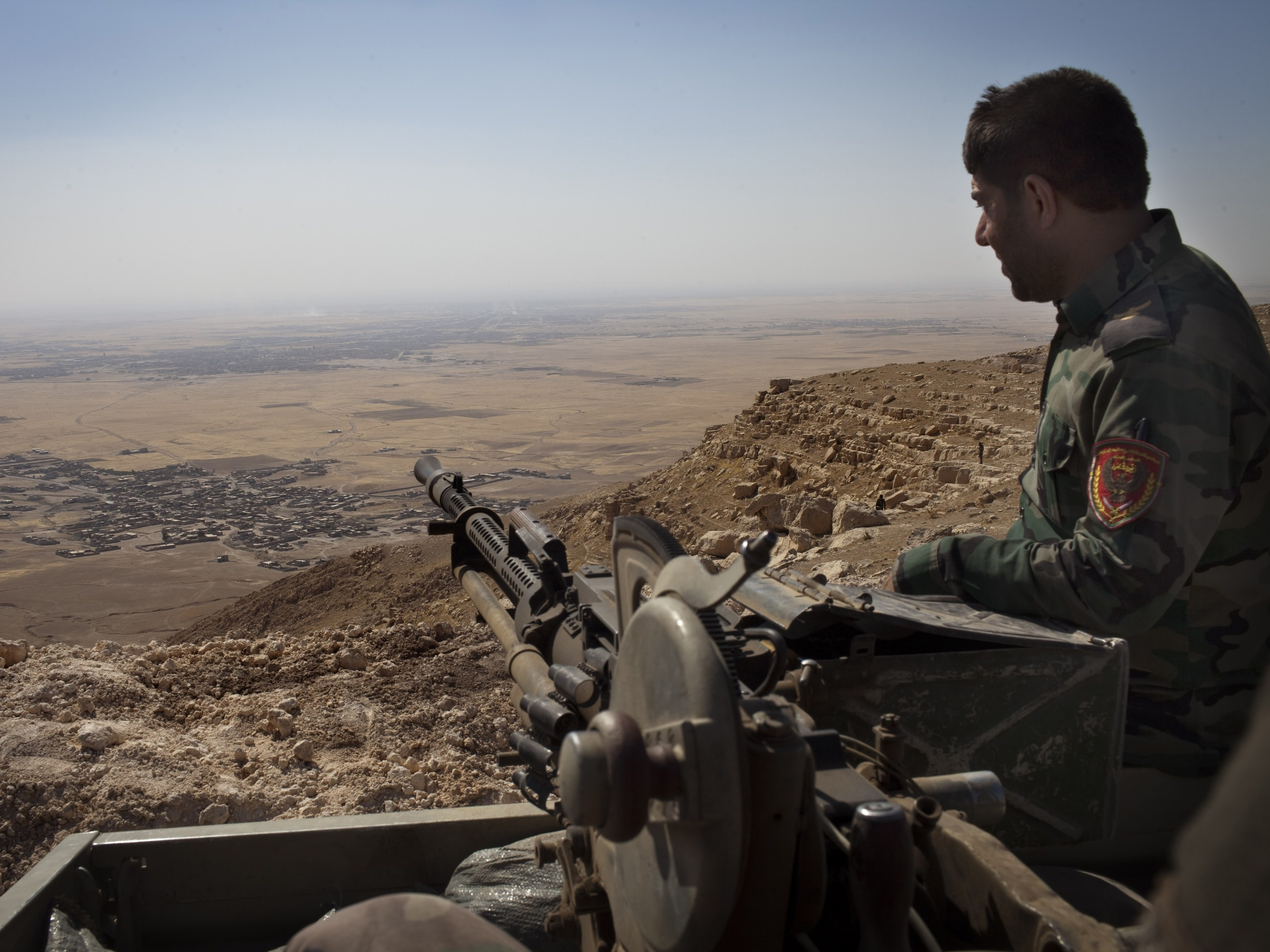 Ill-Equipped And Underpaid, Kurdish Fighters Hold ISIS At Bay