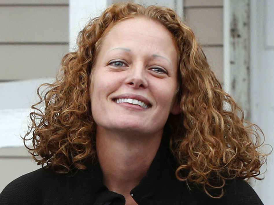 Kaci Hickox and her boyfriend, Ted Wilbur, say they will leave Maine when their self-monitoring for Ebola expires this week. (Robert F. Bukaty/AP)