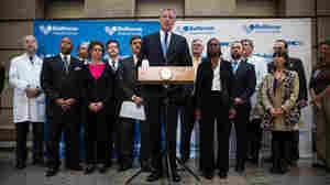 New York City Mayor Bill de Blasio talked about Dr. Craig Spencer last month at a news conference, and has another one set for Tuesday which Spencer will attend, Ebola-free.
