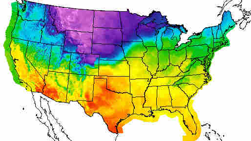 Arctic Front Blast Of Cold Air Hits Middle Of US Heads East - North central us map