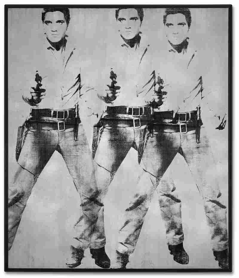 Andy Warhol's Triple Elvis [Ferus Type] is set to be auctioned at Christie's, and expectations are high — but Warhol's estate won't see any of the money.