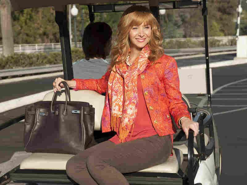 Lisa Kudrow plays actress Valerie Cherish in The Comeback.