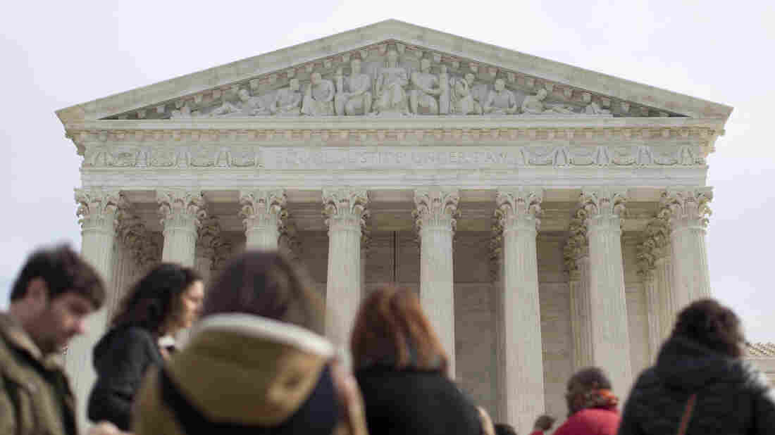 The question before the Supreme Court Wednesday is: Did Alabama's Republican-dominated Legislature rely predominantly on race or on partisanship when it was redrawing its districts?