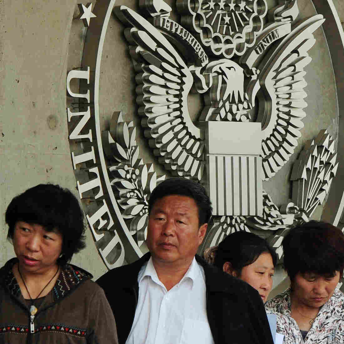 In China, Dreaded Process Of Getting Visa To The U.S. May Get Easier