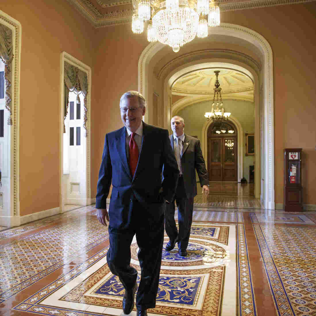 Mitch McConnell's Mission: Making The Senate Work Again