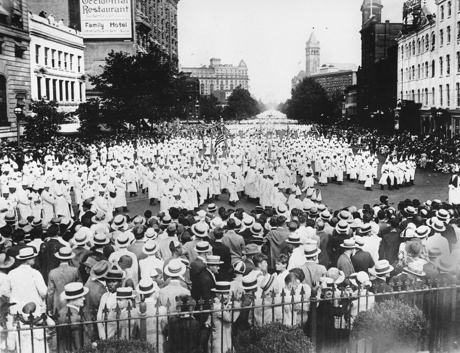 What is the best places to search for stuff about the kkk?