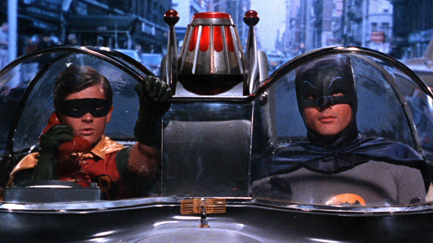Holy Smokes Batman The 60s Series Is Out On Dvd Npr