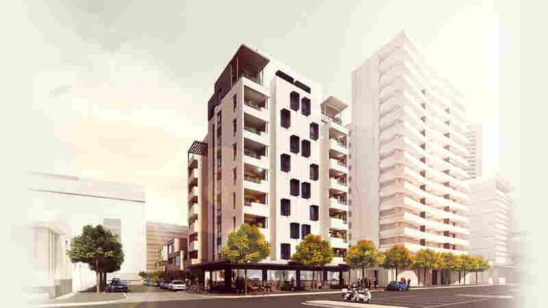 The world's tallest timber residential tower, 10 stories, in currently in Melbourne, Australia, though a 14-story Norwegian project may top it in 2015.