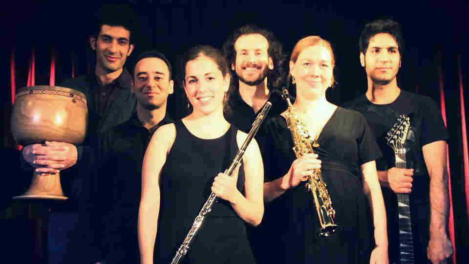 """What do you get when three Israelis, two Iranians and a German walk into a room? A Berlin-based world music ensemble known as Sistanagila, named after an Iranian province — Sistan and Baluchestan — and the popular Jewish folk song """"Hava Nagila."""""""
