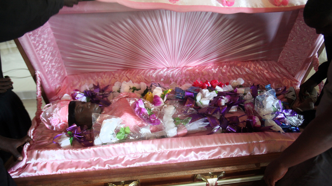Liberians Meet Death With Flowers Trumpets And Cameras Goats And