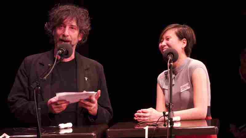 Author Neil Gaiman quizzes contestant Serene Lim on character names both real and fictional.