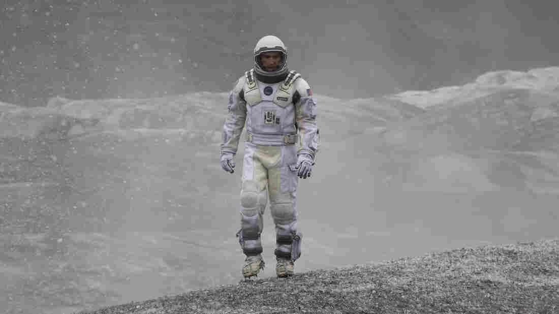 Matthew McConaughey plays an astronaut explorer in Christopher Nolan's Interstellar.