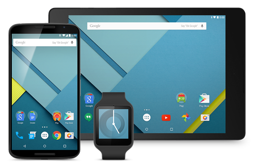 Lollipop, the latest version of Google's Android OS, brings Material Design to phones, tablets and wearables.