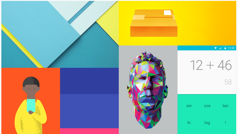 Google's Material Design is designed to treat the space within your phone like a physical object.