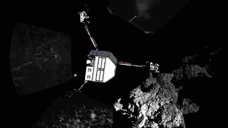 The ESA released this composite p