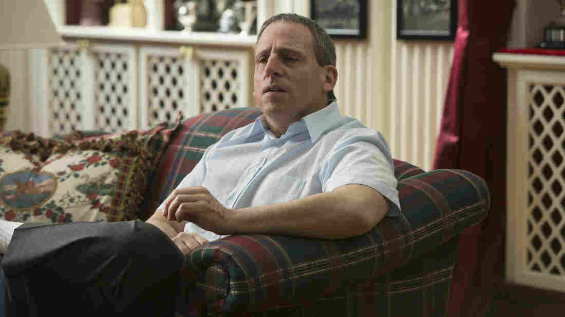 Steve Carell ditches any pretense of comedy in Foxcatcher.