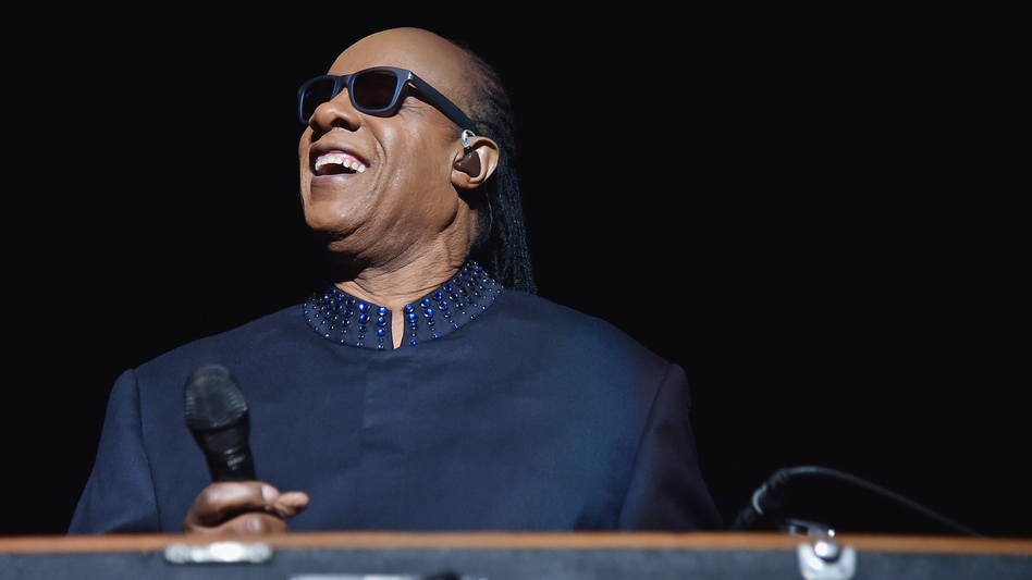 Stevie Wonder performs on the first night of his Songs In The Key Of Life Tour at Madison Square Garden. (Getty Images)