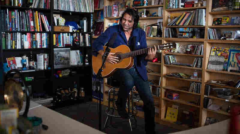 Tiny Desk Concert with David Garza October 2, 2014.