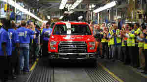 For Best-Selling Truck, Ford Bets Big On Aluminum